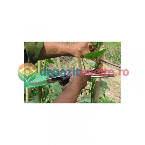 Capsator profesional pentru legat vita de vie si rosii si plante agatatoare