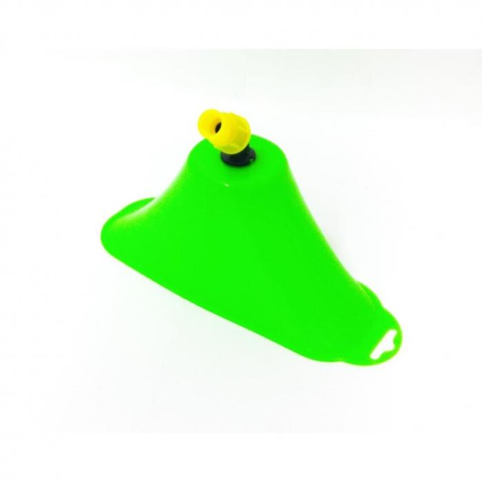 Clopot pentru erbicidat MARE - Palnie clopot pentru erbicidat, aparatoare stropire, filet interior, transparenta, mare [1]
