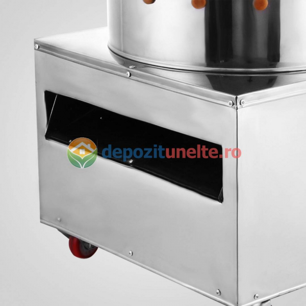 Deplumator electric automat PROFESIONAL jumulitor pentru pasari 230V - 1500W 3