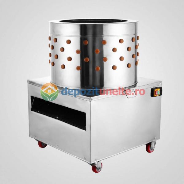 Deplumator electric automat PROFESIONAL jumulitor pentru pasari 230V - 2200W 2