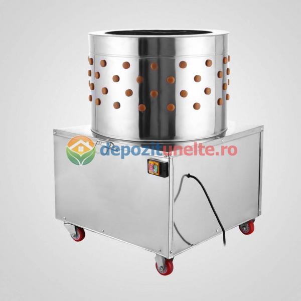 Deplumator electric automat PROFESIONAL jumulitor pentru pasari 230V - 2200W 3