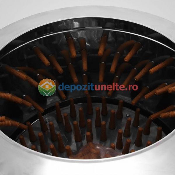 Deplumator electric automat PROFESIONAL jumulitor pentru pasari 230V - 2200W 5