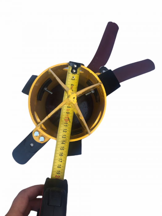 Dozator big bag Grandepo 2021 cu flansa pentru conectare furtun [5]