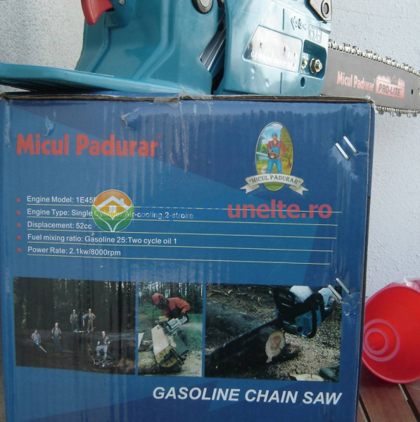 Drujba cu alimenatre pe benzina Micul Padurar 5200 2,95CP 2