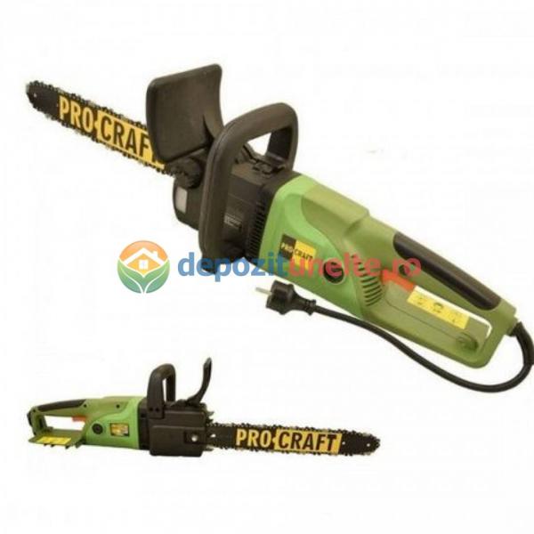 Drujba electrica 2600W, 450mm, Procraft K2600, Fierastrau cu lant Model 2019 1