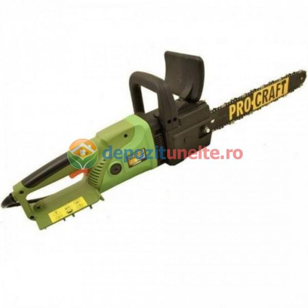 Drujba electrica 2600W, 450mm, Procraft K2600, Fierastrau cu lant Model 2019 2