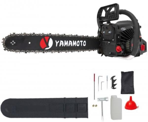 Drujba YAMAMOTO CS-4552, 4.5CP, lama 45CM, Motofierastrau benzina Model Nou 4