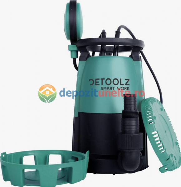 DZ-P102 Pompa submersibila apa curata/murdara 3in1 750W, DEETOOLZ 0