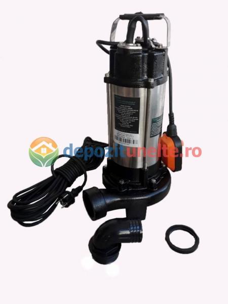 Pompa apa submersibila WQD1500DF 1500W cu tocator Deetoolz 0