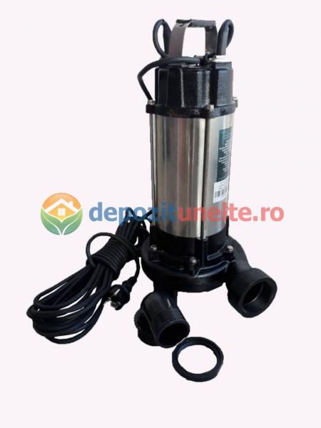 Pompa apa submersibila WQD1500DF 1500W cu tocator Deetoolz 1