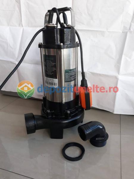 Pompa apa submersibila WQD1500DF 1500W cu tocator Deetoolz 4
