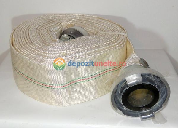 """Furtun Pompier insertie textila+cauciuc 2"""" lungime 20m 0"""