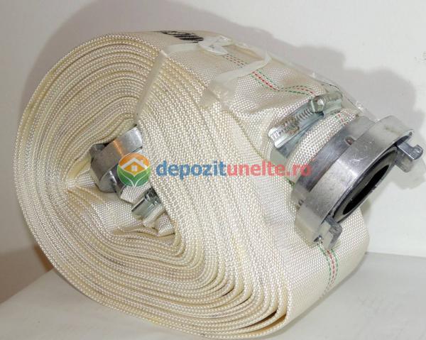 """Furtun Pompier insertie textila+cauciuc 2"""" lungime 20m 2"""