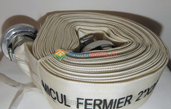 """Furtun Pompier insertie textila+cauciuc 2"""" lungime 20m 5"""