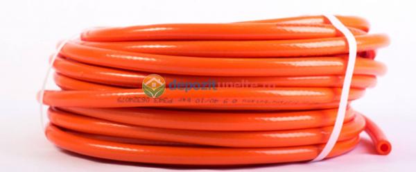 Furtun pvc portocaliu 8mm 25m 0