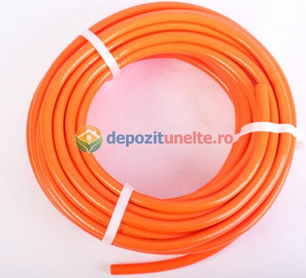 Furtun pvc portocaliu 8mm 25m 2