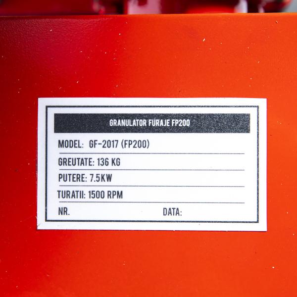 Granulator furaje FP200 fara motor 3