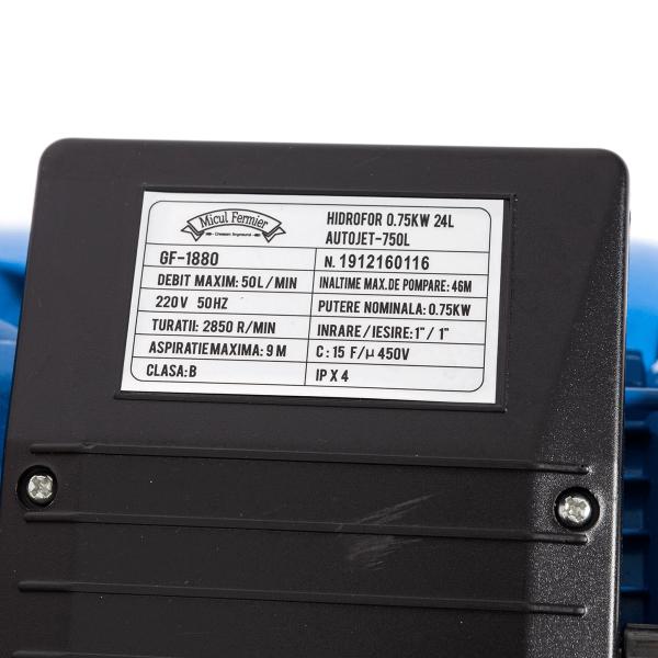 Hidrofor 0,75KW 24L AUTOJET-750L 4