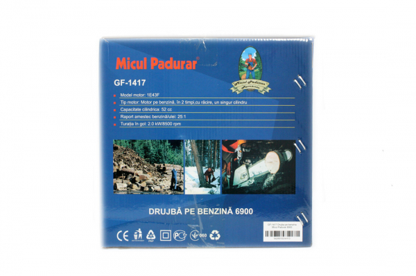 PACHET PROMO GRANDEPO 2019 DRUJBA MICUL PADURAR 6900 3CP, 52CC GF-1417 + 2 x ULEI AMESTEC GF-1484 500ML + ULEI LANT 1L GF-0853 13