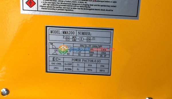Invertor Aparat sudura IGBT SNK POWER MMA 200A 2