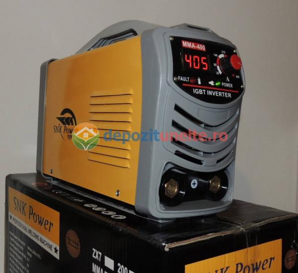 Invertor aparat sudura, putere mare, MMA-400A IGBT - SNK POWER 1