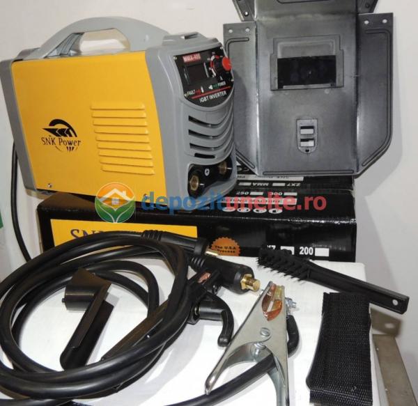 Invertor aparat sudura, putere mare, MMA-400A IGBT - SNK POWER 7