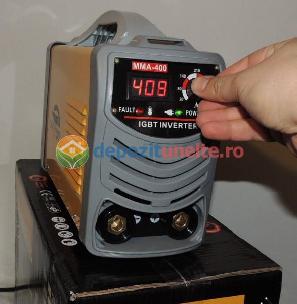 Invertor aparat sudura, putere mare, MMA-400A IGBT - SNK POWER 8