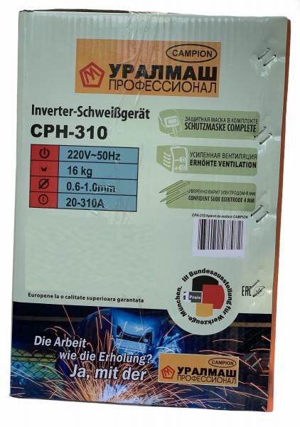 Invertor de sudura MIG/MAG/MMA, Campion CPH-310, 310A , 4mm [8]