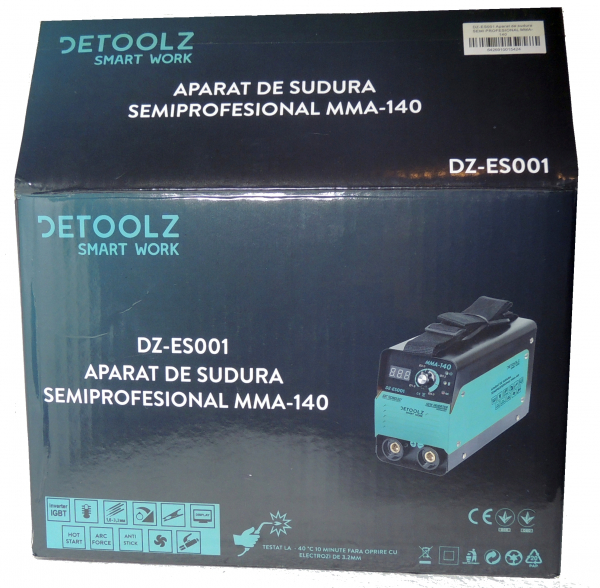 Invertor sudura clasa compacta Tehnologie IGBT- MMA-140 7