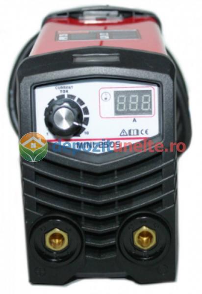 Invertor MICUL FERMIER MINI250S 120A cu potentiometru de reglaj si AFISOR DIGITAL 1