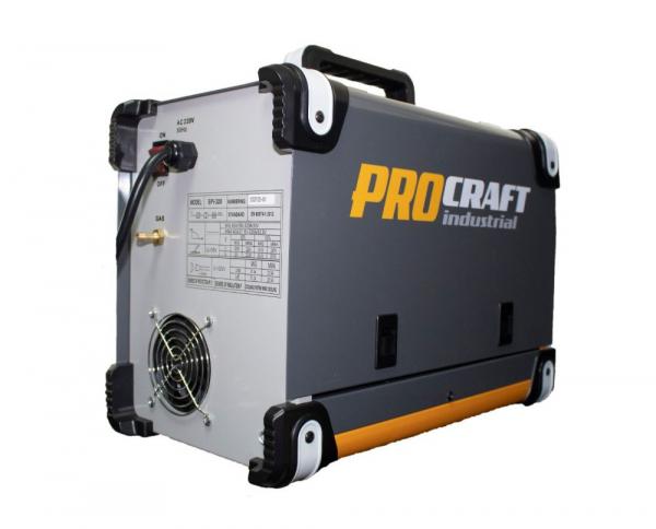 Invertor MMA + MIG Procraft SPI 320, Industrial, Electrozi si Gaz , 320 Amperi, + Cabluri si Pistol 2
