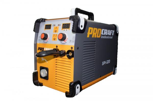 Invertor MMA + MIG Procraft SPI 320, Industrial, Electrozi si Gaz , 320 Amperi, + Cabluri si Pistol 5