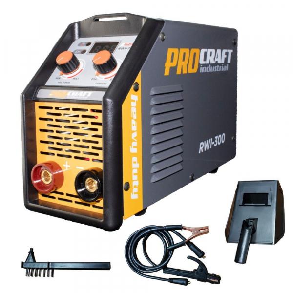 Invertor MMA Procraft RWI 300, Profesional, Heavy Duty, Racire fortata, electrozi 4 mm 0