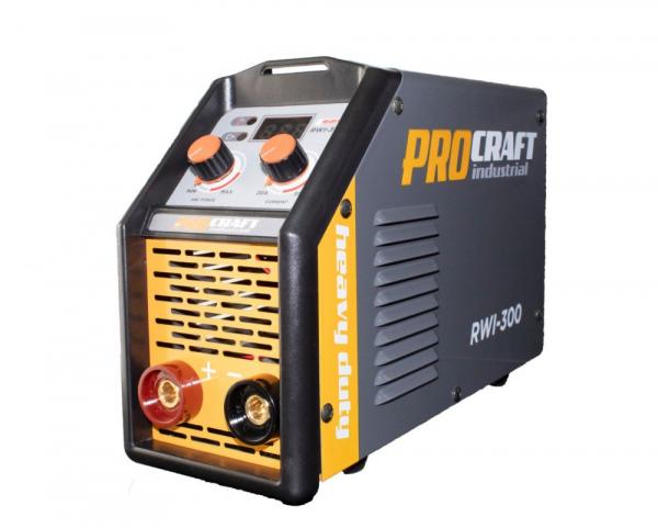 Invertor MMA Procraft RWI 300, Profesional, Heavy Duty, Racire fortata, electrozi 4 mm 1