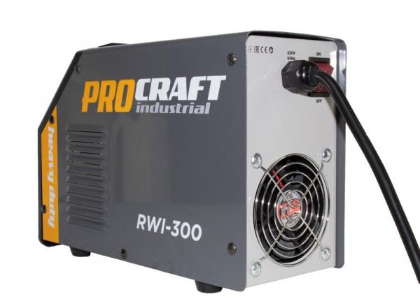 Invertor MMA Procraft RWI 300, Profesional, Heavy Duty, Racire fortata, electrozi 4 mm 3