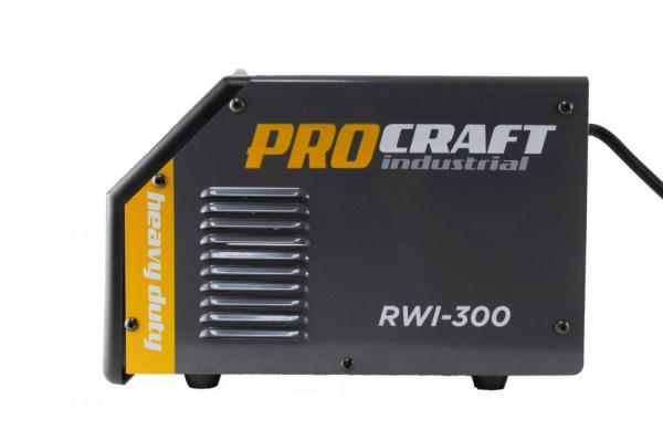 Invertor MMA Procraft RWI 300, Profesional, Heavy Duty, Racire fortata, electrozi 4 mm 4