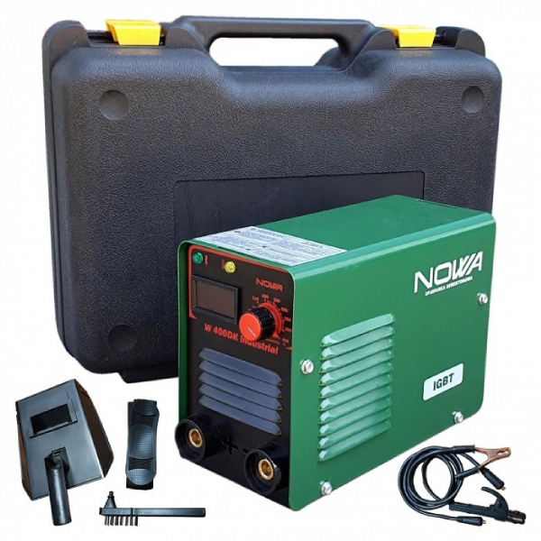 Invertor pentru sudura W400DK NOWA by CAMPION. in valiza, afisaj electronic, electrozi 1.6-5mm [0]