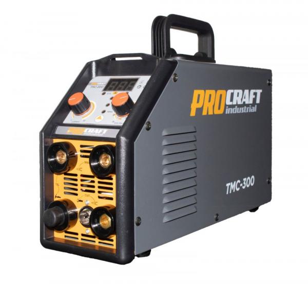 Invertor Plasma Procraft TMC 300, 3 in 1, MMA, TIG + Accesorii, Gama Profesionala 4