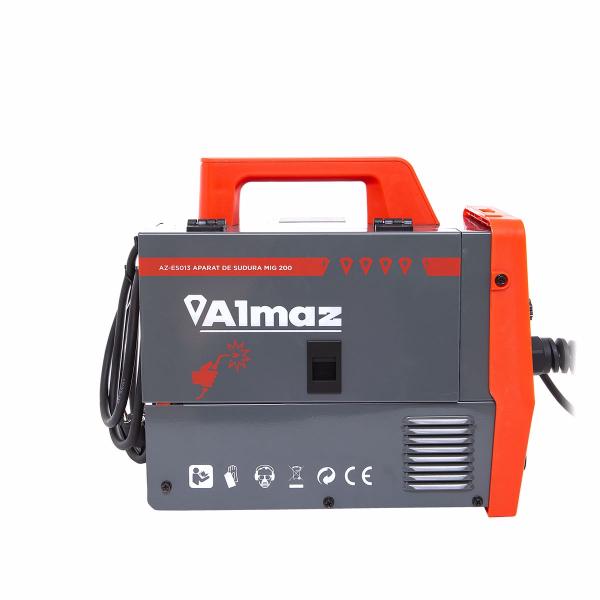 Set Aparat de sudura cu Plasma - GranDepo ALMAZ MIG-MMA 200A, Fir sudura MIG 0,8-1.0 mm (electrozi sudura MMA 1.6mm-4mm) MMA 200A MIG 200A Model COMPLET plus Rola fir sudura 0,8mmCABLU MMA 250A INCLUS [3]