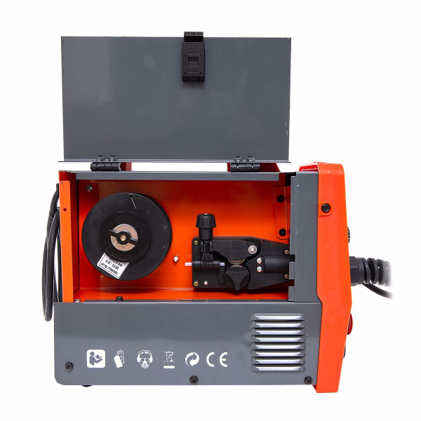 Set Aparat de sudura cu Plasma - GranDepo ALMAZ MIG-MMA 200A, Fir sudura MIG 0,8-1.0 mm (electrozi sudura MMA 1.6mm-4mm) MMA 200A MIG 200A Model COMPLET plus Rola fir sudura 0,8mmCABLU MMA 250A INCLUS [5]