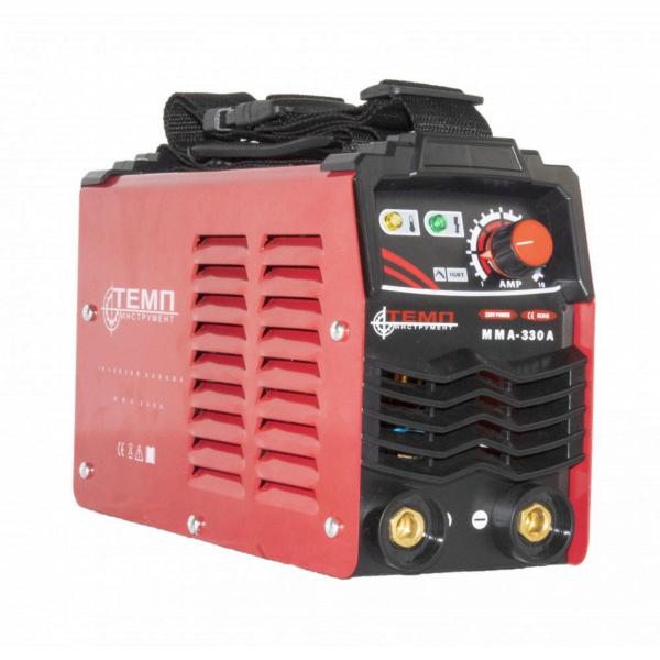 Invertor sudura MMA TEMP 330A, 330Ah, diametru electrod 1.6 - 4 mm 1