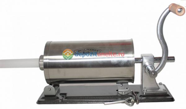 Masina de carnati 3kg ORIZONTAL MICUL FERMIER (YG-2006PA) 1
