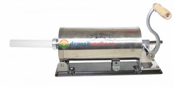 Masina de carnati 5.5kg ORIZONTAL MICUL FERMIER (YG-2010PA) + 5 PALNII + MANUSI 3