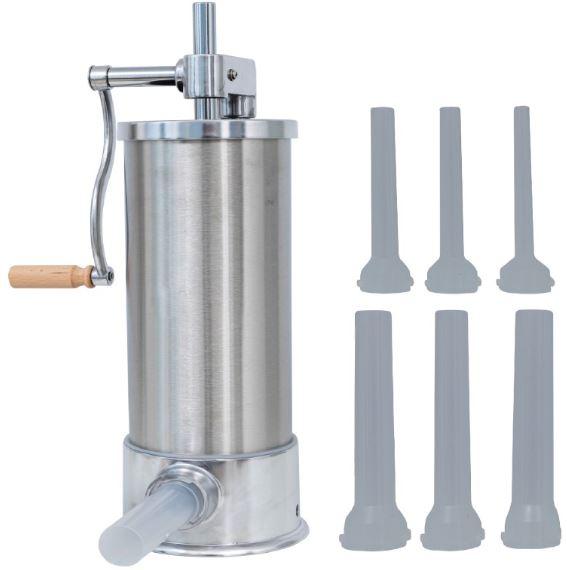Masina de carnati vertical PROFESIONAL 5.5kg Micul Fermier 6 PALNII (YG-2010) 0