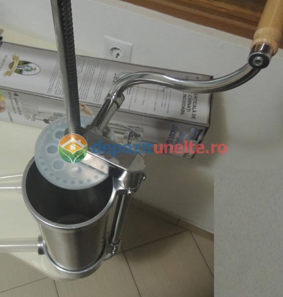 Masina de facut carnati 3kg Micul Fermier - Vertical 3