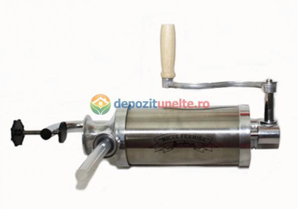 Masina de facut carnati verticala 2.5kg Micul Fermier 2