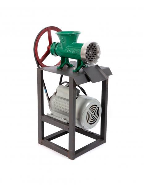 Masina de tocat carne din aluminiu Campion Nr. 32 1500W cu palnie CMP-0278 0
