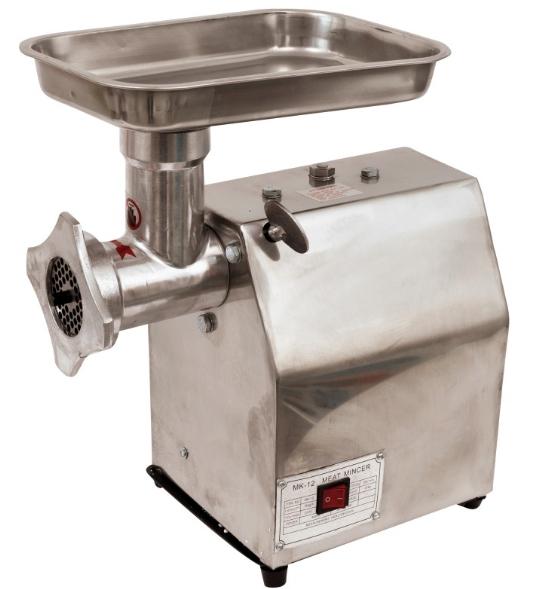 Masina de tocat carne electrica - profesionala INOX 850W 150k/ora MK-12 Alpin Profi [2]