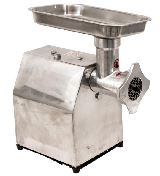 Masina de tocat carne electrica - profesionala INOX 850W 150k/ora MK-12 Alpin Profi [3]