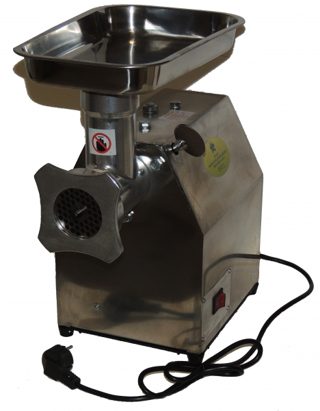 Masina de tocat carne electrica - profesionala INOX 850W 150k/ora MK-12 Alpin Profi [1]